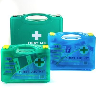 PREMIUM SMALL-LARGE BSI APPROVED FIRST AID KIT Catering/Office/Warehouse/Work