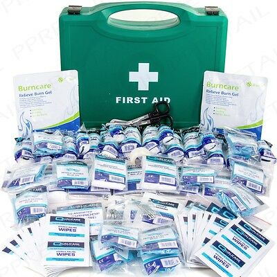210Pc EXTRA LARGE UK BSI APPROVED WORKPLACE FIRST AID KIT Office Health & Safety