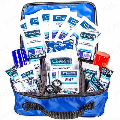 LARGE SPORT TRAINING FIRST AID KIT BSI APPROVED Gym Workout Injury Physio Bag