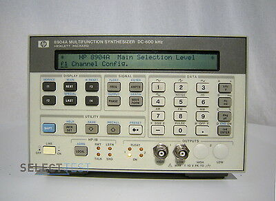 AGILENT / HP 8904A MULTIFUNCTION SYNTHESIZER 600 KHz WITH OPTION 001 (REF:721)