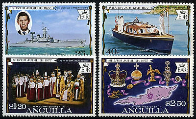 Anguilla 1977 SG#269-272 Silver Jubilee MNH Set #D35975