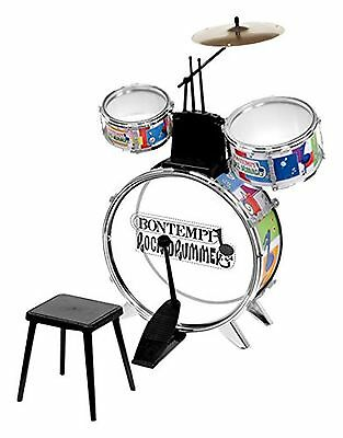 Bontempi Rock Drummer with Stool (4 Pieces)