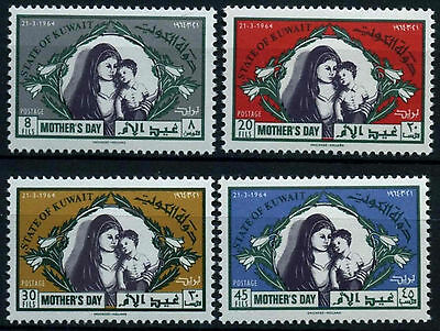 Kuwait 1964 SG#38-241 Mothers Day MNH Set #D33804