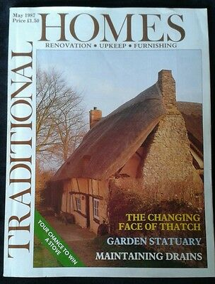 Traditional Homes Magazine May 1987 - vintage