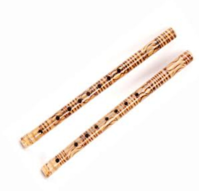 A Typical Thai Musical Antique Instrument Blowing Flute Collectible Gift
