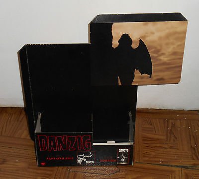 vintage 1991 DANZIG LUCIFUGE counter display Def American