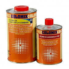 2K Colomix Clear Anti Scratch Clearcoat 1.5Ltr Lacquer / Activator Kit 1Ltr +0.5