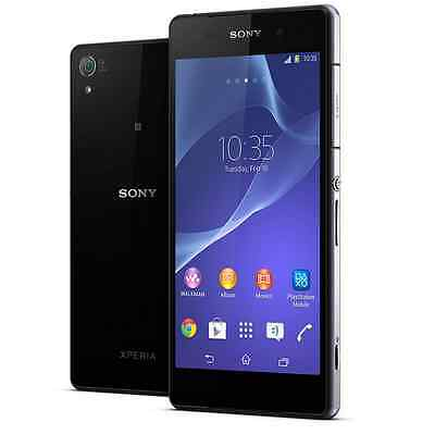 Sony Xperia Z2 Z2 D6503 - 16GB - Black (Unlocked) Smartphone Android LTE 4G 3G