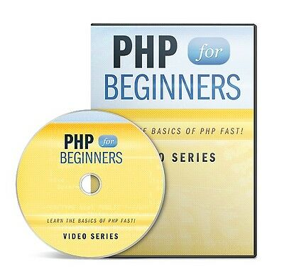 PHP For Beginners - 17 info packed video tutorials