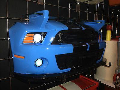 2013 Ford Shelby Mustang GT500 Super Snake Resin Wall Shelf with WORKING LIGHTS