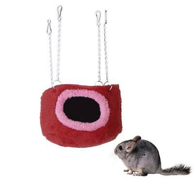 Cotton Hammock Hanging Bed Cage for Squirrel Chinchilla Guinea Pig Size S