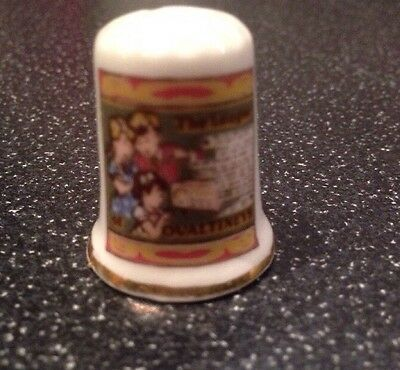 The league Of Ovaltineys Thimble - Bone China