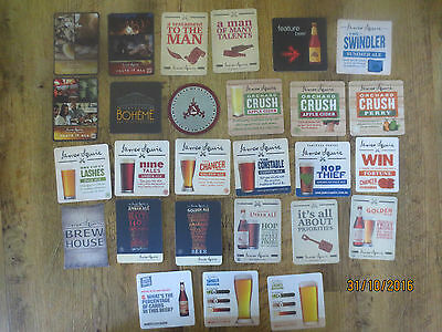 27 Different JAMES SQUIRE BREWERY N.S.W. Issue  Beer collectable COASTERS,