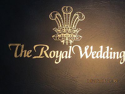 The Royal Wedding 1981  With Uncirculated Crown Coin & Two Mint Stamps