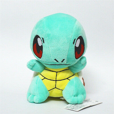 "6"" Pokemon Center SQUIRTLE Stuffed Soft Plush Toy Doll Kids Xmas Gift US ship"