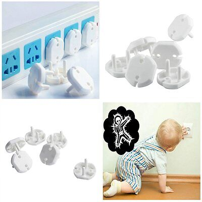 10X Child Baby Safety Anti Electric Shock Protection Socket Outlet Plug Cover