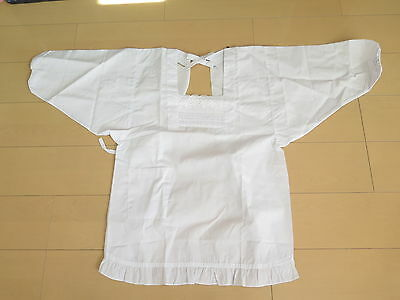 Japanese Style Apron Kappogi White Cook's apron From Japan