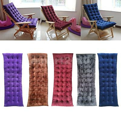 Garden Outdoor Lounge Chair Pad Thickened Non-slip Sofa Bench Cushion 5 Colors