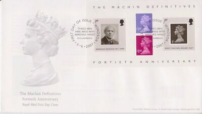 Unaddressed FDC The Machin definitives