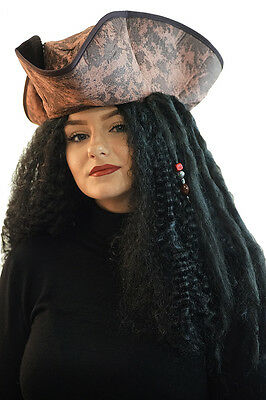 Buccaneer-PIRATE- PIRATE WENCH HAT & WIG SET