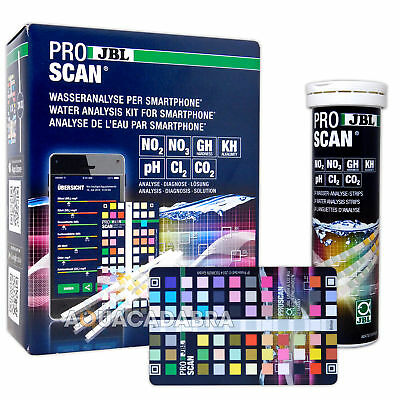Jbl Proscan Water Analysis For Smartphone Test Kit App Aquarium Fresh Fish Tank