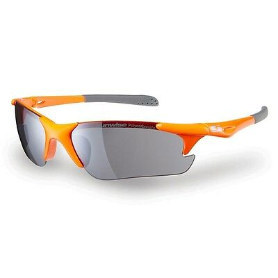 Sunwise Twister Running Sunglasses: Orange