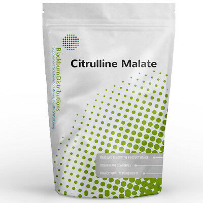Citrulline Malate 1Kg - 100% Pure - Muscle Pump, Strength, Bodybuilding