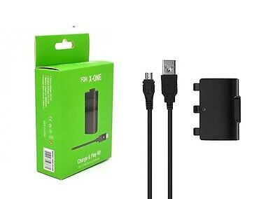 Xbox one Rechargeable Battery Pack + Play Kit and Charging Cable