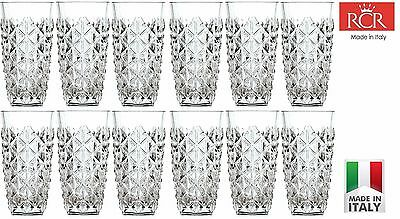 Set of 12x RCR Crystal Enigma Hi-Ball 40cl Tumbler -- Gift Presentation Box