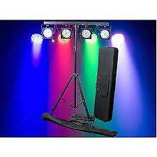 Light Emotion LED PARBAR - 4 lights stand bag controller