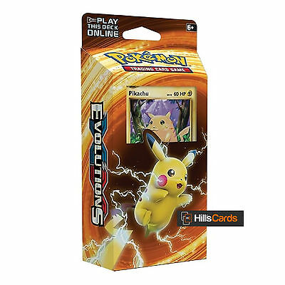 Pokemon XY Evolutions Pikachu Power Theme Deck: 60 Trading Cards XY12