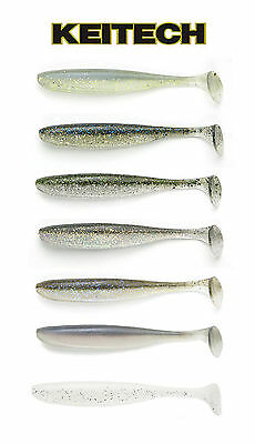 "Keitech Easy Shiner Swimbait 5""  5 Pack Select Colors Bass Fishing Lure Bait"
