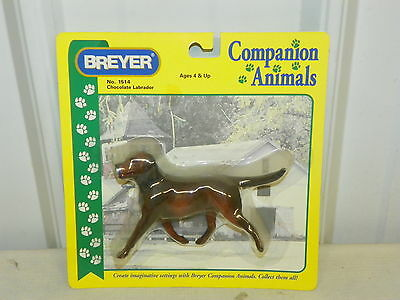 BREYER Companion Animals #1514 Chocolate Labrador Retriever New in Package