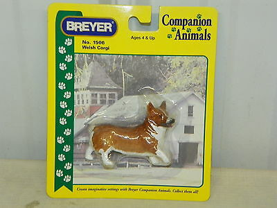 "BREYER Companion Animals #1506 Welsh Corgi 3"" x 2"" New in Package"