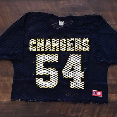 San Diego Chargers Vintage Billy Ray Smith Jr. Sand Knit NFL Football Jersey  L c8e790a75