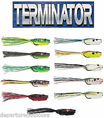 """TERMINATOR POPPING FROG 2.5"""" select colors"""