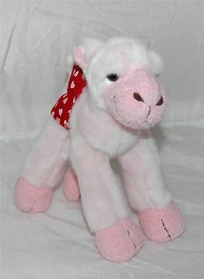 Russ Berrie Pink Camel Soft Toy Plush