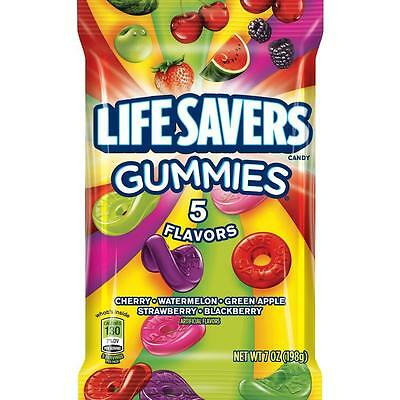 Lifesavers 5 Flavour Gummies - American Sweets - 198g