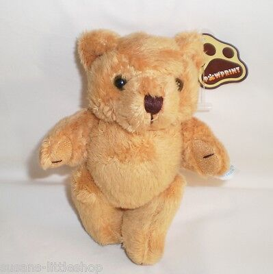 Cute Little Poseable Jointed Plush Teddy Bear Soft Toy,  By Pawprint