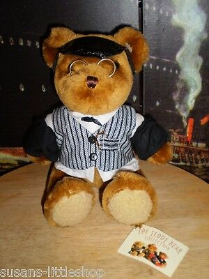 Teddy Bear Collection , Clive The Cashier Soft Toy Plush Collectable