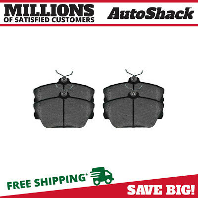 Satisfied PR1186C *NEW* Front Ceramic Disc Brake Pads with Shims