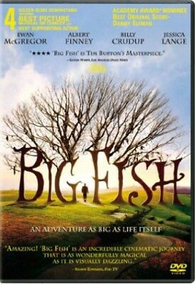 Big Fish [New DVD] Dolby, Digital Theater System, Dubbed, Subtitled, Widescree