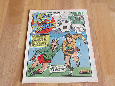 ROY of the ROVERS Classic Weekly Football Comic 01/03/86 - 1st March1986