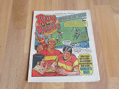ROY of the ROVERS Classic Weekly Football Comic 28/09/85 - 28th September 1985