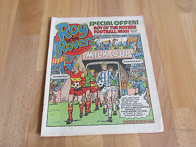 ROY of the ROVERS Classic Weekly Football Comic 26/04/86 - 26th April 1986