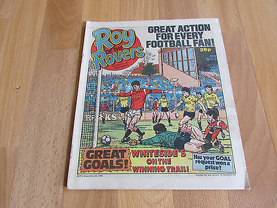 ROY of the ROVERS Classic Weekly Football Comic 02/08/86 - 2nd August 1986