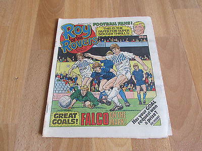 ROY of the ROVERS Classic Weekly Football Comic 09/08/86 - 9th August 1986