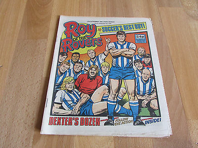 ROY of the ROVERS Classic Weekly Football Comic 23/11/85 - 23rd November 1985