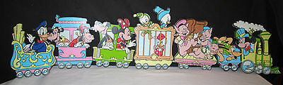 Vintage Disney Pressed Board Wall Decorations