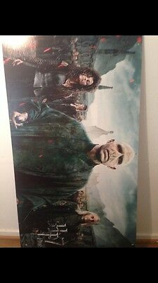 Harry Potter Deathly  Hollows 2 Red Carpet London Premier Cardboard Poster